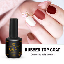 Fengshangmei Matte Nagellak Top Coat Matt Afwerking Gel Langdurige Led UV Matte Top Lak 15ml(China)
