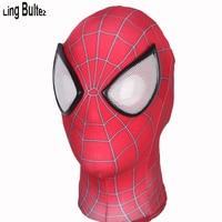 Ling Bultez Classico di Alta Qualità 3D Print Amazing Spiderman Maschera di Vendita Calda Spiderman Maschera Super Hero Mask