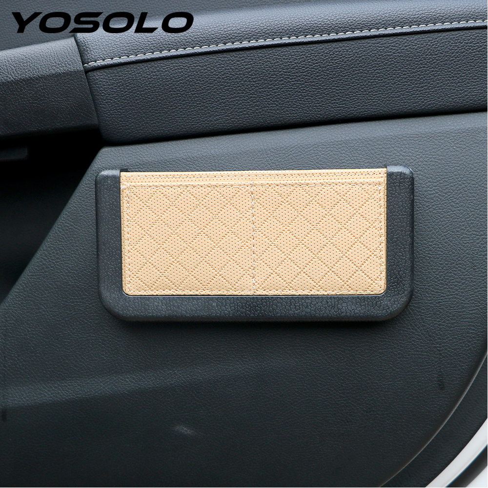YOSOLO 4 Colors <font><b>Car</b></font> Organizer Storage <font><b>bag</b></font> Stowing Tidying <font><b>Car</b></font> Accessories Seat Back Pocket Box <font><b>Car</b></font>-styling <font><b>Phone</b></font> Card Holder
