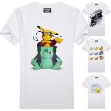 Various Manga-related Pokemon Mens Short-Sleeved T-Shirt
