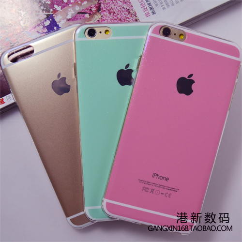 new style 6615d f6852 US $14.6 |For for apple for for iphone 6 plus 5s pink mint green glitter  phone case silica gel set protective case shell on Aliexpress.com | Alibaba  ...