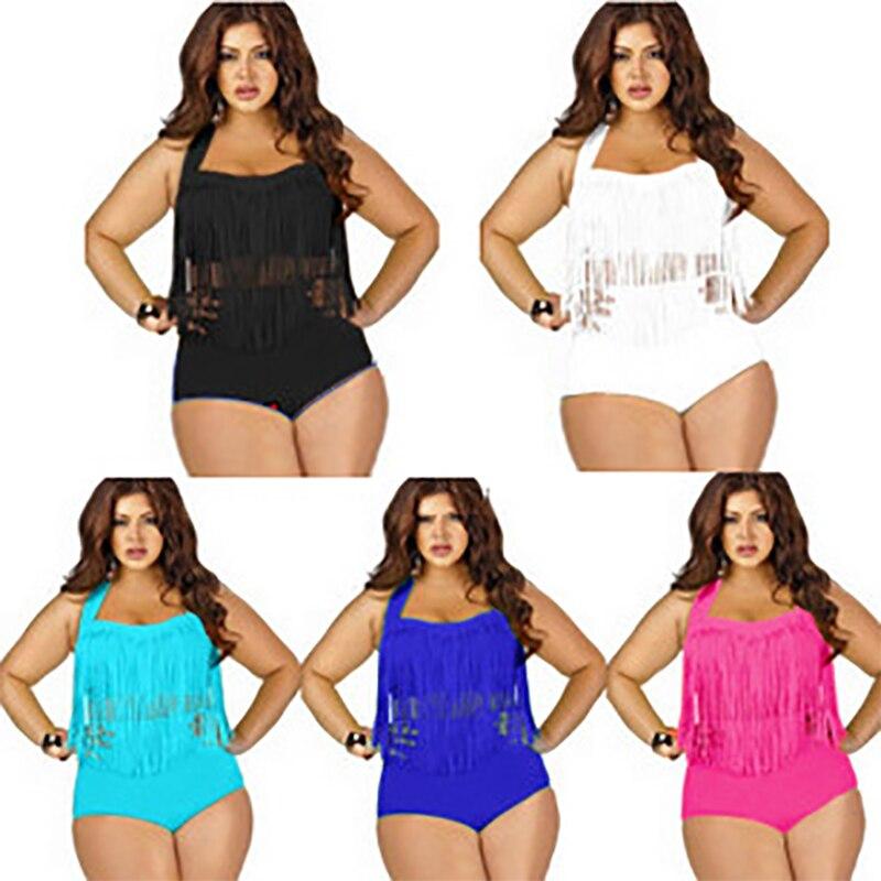 2016 Hot Sale New Style High Waist Pure color Bikini Padded Two Piece set Bikinis a