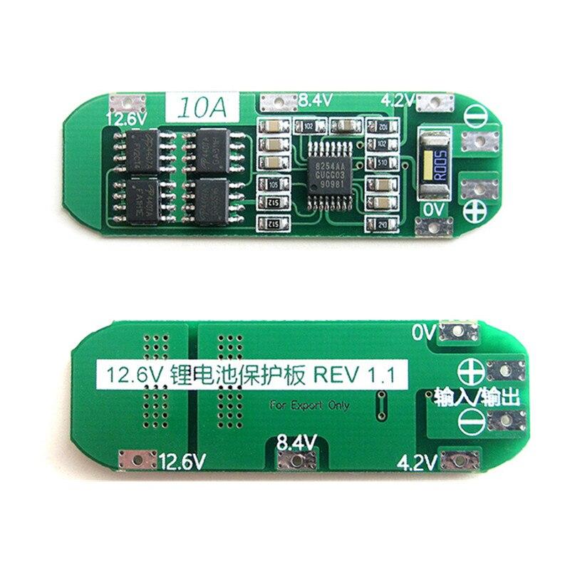 Nueva placa de protección de cargador de batería de litio Li-ion 3 S 10A 18650 para Módulo de celda Lipo de 12,6 V-13,6 V F08474 IMAX RC B3 Pro Cargador Del Balance Compacto para 2 S 3 S 7.4 V 11.1 V de Litio de La Batería LiPo + Freepost