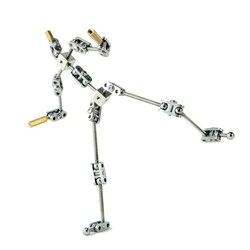DIY لا-الجاهزة الرسوم المتحركة ستوديو المحرك كيت ل وقف motion دمية مع ارتفاعات مختلفة من جسم الإنسان الهيكل العظمي