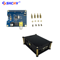 Raspberry Pi 2 Digital Audio Sound Card Expansion Board HIFI DiGi I2S SPDIF Acrylic Case Box