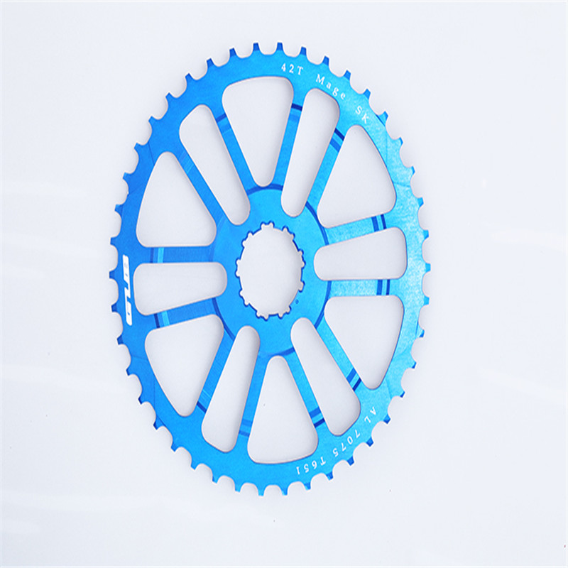 GUB 42T Teeth Cog For 34/36t Tooth 10 Speed 10s MTB Cassette Sprocket For Single / Double Chainring Mountain Bike Hight Quality top high speed full teeth piston