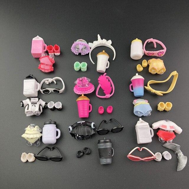 Série 3 4 1 pc Pode Escolher O Estilo Original Bonecas de pano para LOL Figura Dolls Acessórios infantis Brinquedos