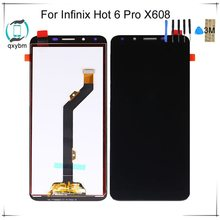 US $17.62 |Tested For infinix Hot 6 Pro X608 LCD Display with Touch Screen Digitizer Assembly 6 inch For infinix X608 LCD-in Mobile Phone LCD Screens from Cellphones & Telecommunications on Aliexpress.com | Alibaba Group