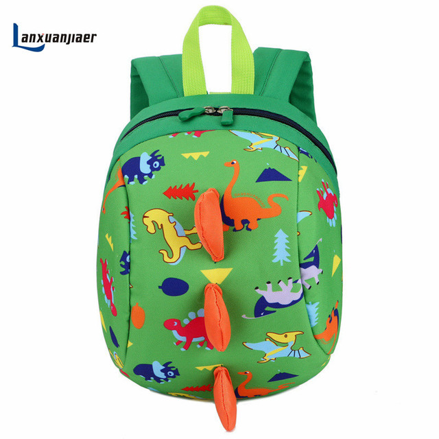 acd6f8e314 Lanxuanjiaer Cute Cartoon Toddler Baby Harness Backpack Leash Safety Anti-lost  Backpack Strap Walker Dinosaur Backpack 5 color