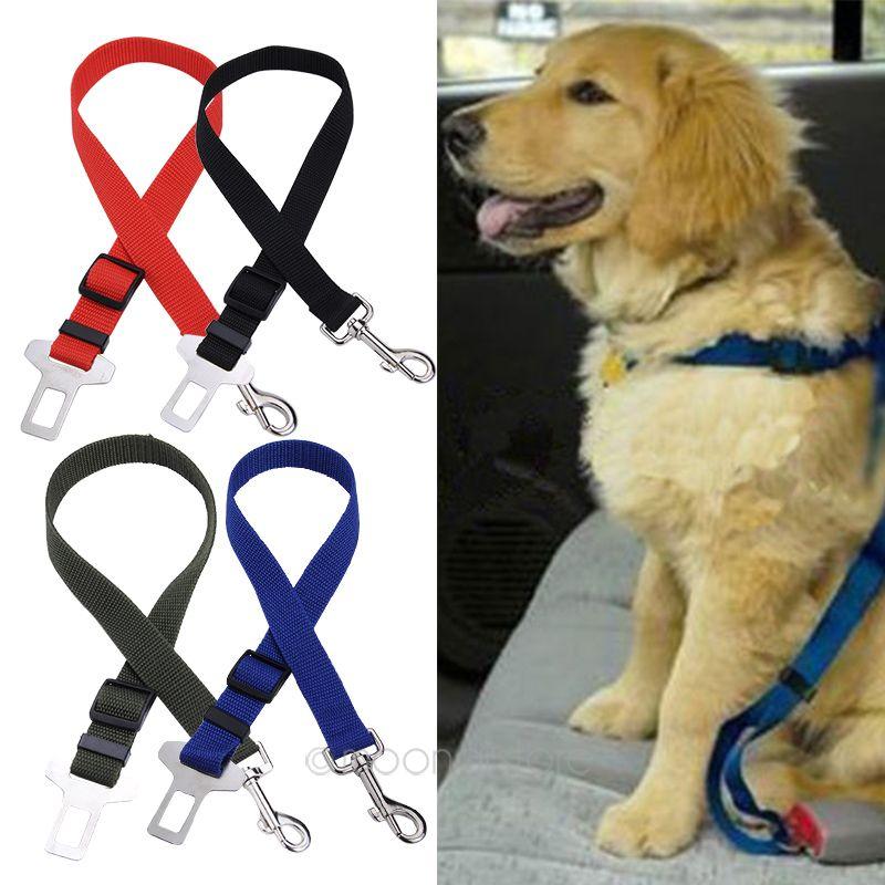 Harness-Restraint Travel-Clip Car-Safety-Seat-Belt Dog-Pet Nylon Lead Practical Adjustable