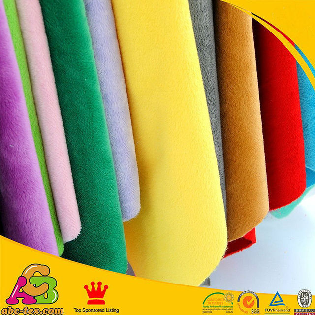 Livraison Gratuite câlin minkee tissu 26 couleurs mixte pour couche et couche minky Vendu par Mètre
