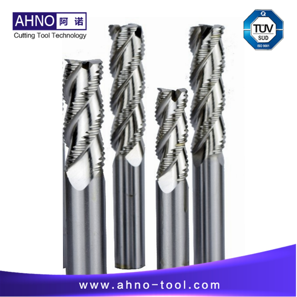 BeRay of AHNO Roughing End Mills for Aluminum or Alloy, Tungsten Carbide Milling Cutters from D6.0 to D20.0 for CNC Mill Machine free shipping of 1pc hss 6542 full cnc grinded machine straight flute thin pitch tap m37 for processing steel aluminum workpiece