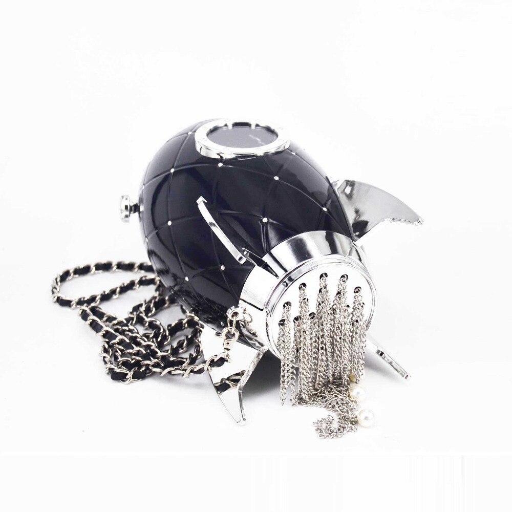 Bolsa em forma de Foguete