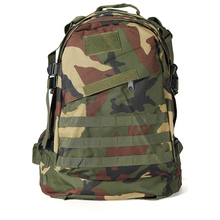 New Sale 40L Outdoor Military Tactical Rucksack Backpack Hiking Camping Trekking Bag – Jungle camouflage