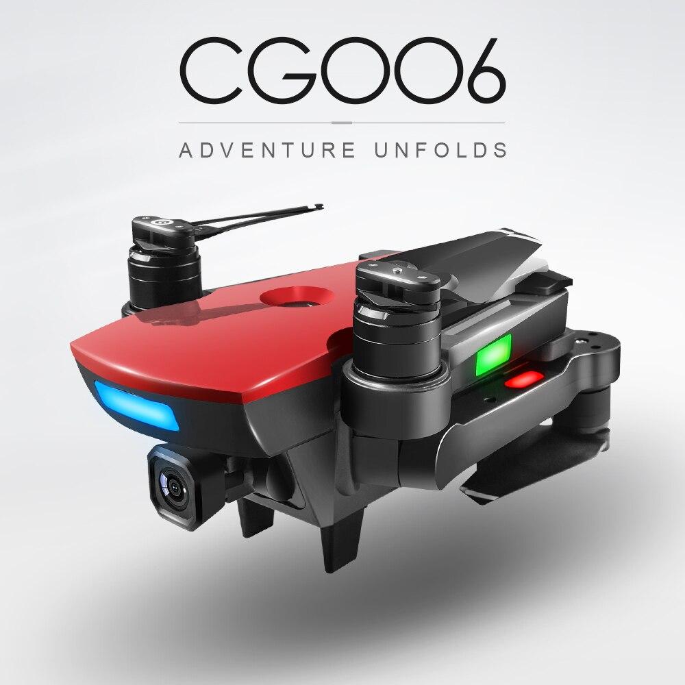 CG006 RC Drone avec Caméra 1080 p Large-angle Caméra 5g Wifi FPV GPS Positionnement Suivez-moi Altitude tenir RC Quadcopter Dron