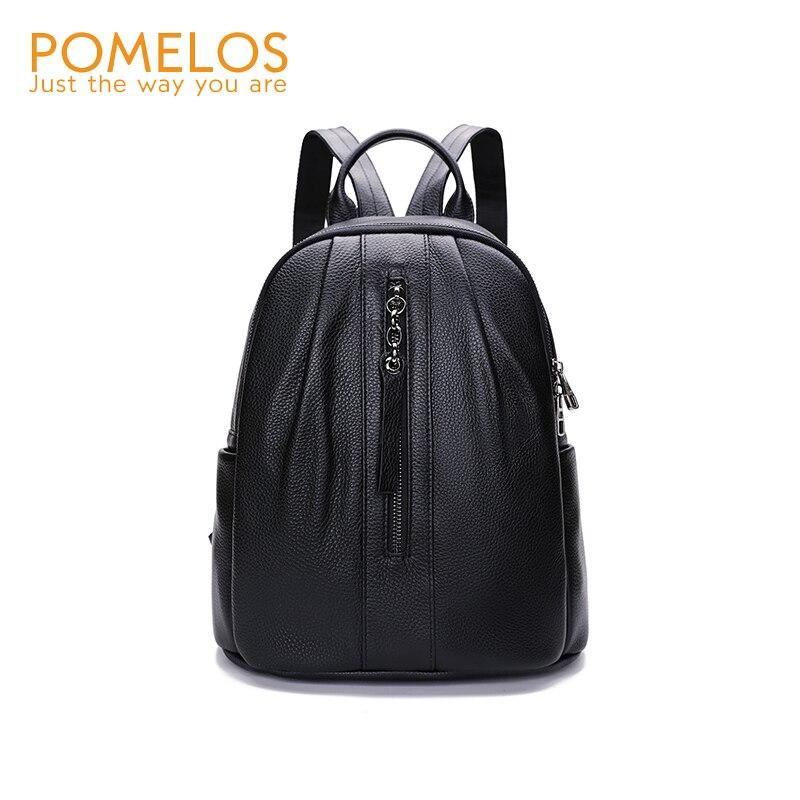 POMELOS sac à dos femmes haute qualité en cuir sac à dos pour femmes sac à dos mode femme voyage sac à dos pour écolière