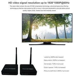 Image 5 - ZY DT216 HD Wireless Transmission System Wireless HDMI Extender Transmitter Receiver Video WIFI 100m Wireless HDMI TV Sender Kit