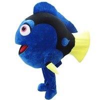 Немо рыба Клоун Маскоты взрослый костюм Горячая персонажа из мультфильма от найти Немо аниме Костюмы для косплея карнавальный маскарадный