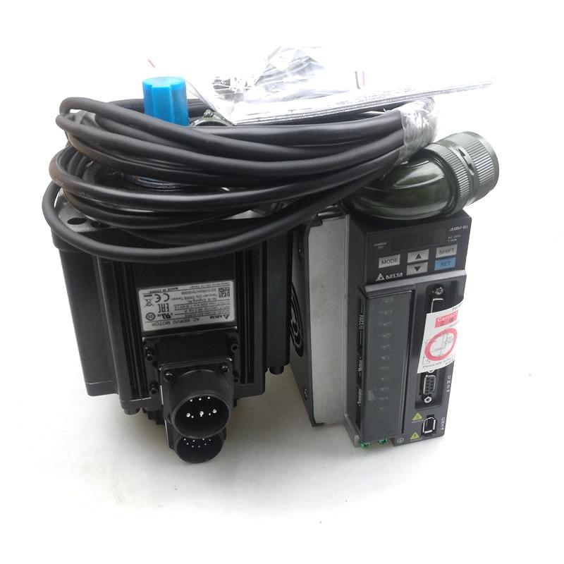 1 5KW AC Servo Motor Drive kits Delta 220V 7 16NM 2000RPM 130mm Oil Seal with