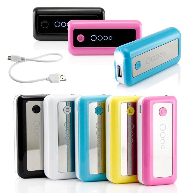 Fábrica oem powerbank External Battery Pack 5600 mah universal móvel portátil
