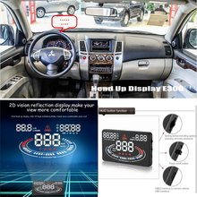 Car HUD Head Up Display For Mitsubishi Pajero Sport - Saft Driving Screen Projector Inforamtion Refkecting Windshield car hud head up display for ford c max c max cmax 2010 2014 safe driving screen projector inforamtion refkecting windshield
