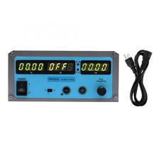 Adjustable DC Stabilized Power Supply Program Switch Four-Digit Display 110-220V adjustable switching Power kps1510d 15v 10a digital adjustable mini dc power supply switch dc power supply 110 220v