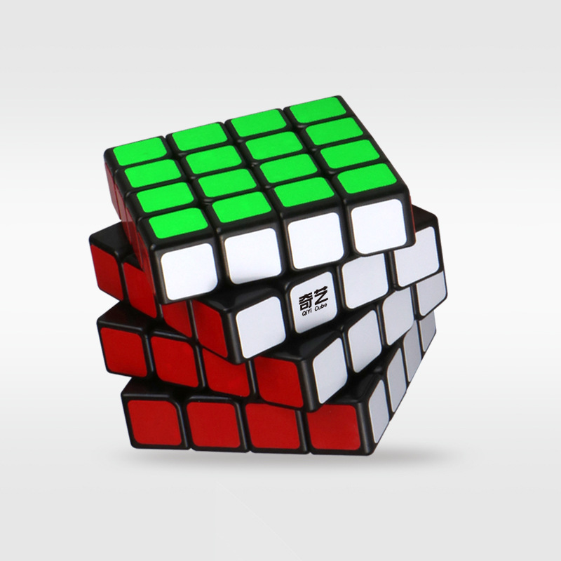 New QiYi QiYuan S 4x4 Cube Puzzle Speed Cube Toys For Children With Box