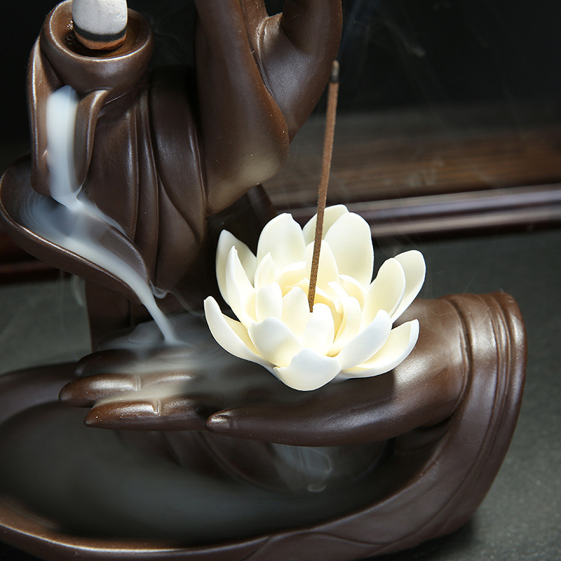 Buddha Hand Incense Burner - Instantly Awaken 7 Chakras 3