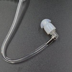 Image 5 - 5 adet temizle hava akustik tüp kulaklıklar kulak tomurcukları yedek tüp Baofeng Yaesu ICOM Midland radyo kulaklık kulaklık kulaklık