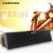 Сардины SDY019 портативный динамик Bluetooth Поддержка FM радио MP3 USB Soundbar с светодиодный экран 3D стерео объемный для домашнего кинотеатра