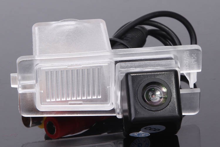 CCD Car Reverse Camera for Ssangyong Rexton Kyron Backup Rear Review Reversing Parking Kit Waterproof NightVision Free Shipping image