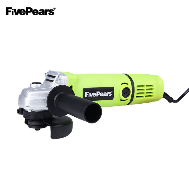 Fivepears Electric Angle Grinder Tool Polisher Angular 100 Mm Grinding Machine Hand Mill