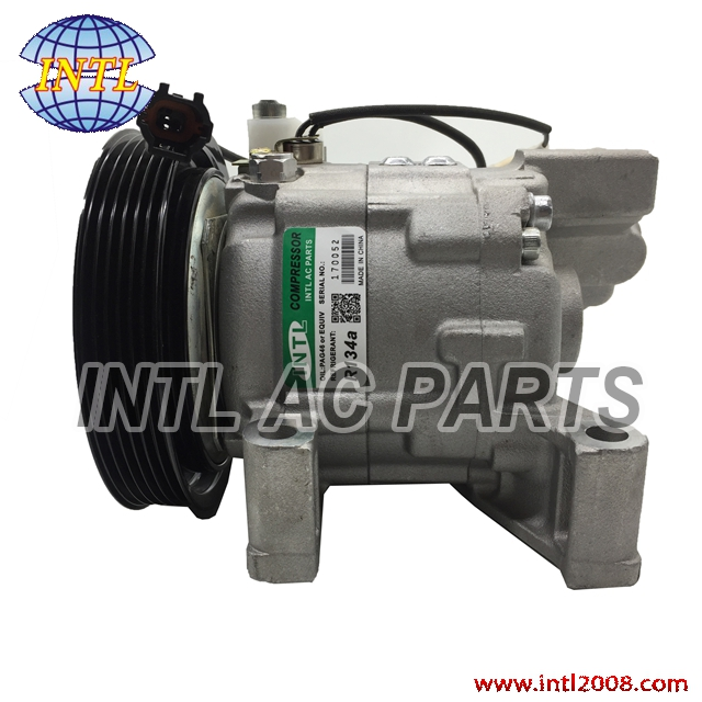 Auto Replacement Parts Nice Dkv11g Auto Ac Compressor For Nissan Sunny 926004m410 92600-4m410 506021-5400 92600-4z002 92600-4z000 Four Seasons 67460 68452 Supplement The Vital Energy And Nourish Yin