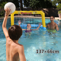 Football Goal Voleyball Net Inflatable Mattress Basketball Game Swim Pool Float Island Baby Circle Seat Party Toy Accessory
