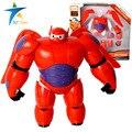 Превратить собрать морские пехотинцы робот baymax фильм герой 6 baymax фигурку игрушки детям макс собрать жира шар человек кукла