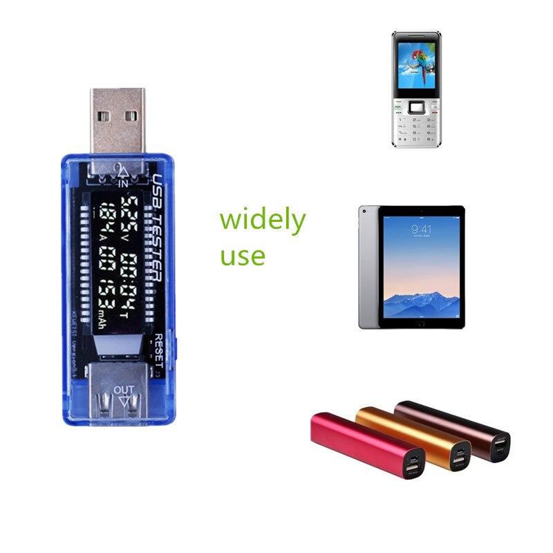 LCD USB QC2.0 töltőkapacitás áramfeszültség-mérőkészülék a mobiltelefon energiaellátó bankjára 15% kedvezmény
