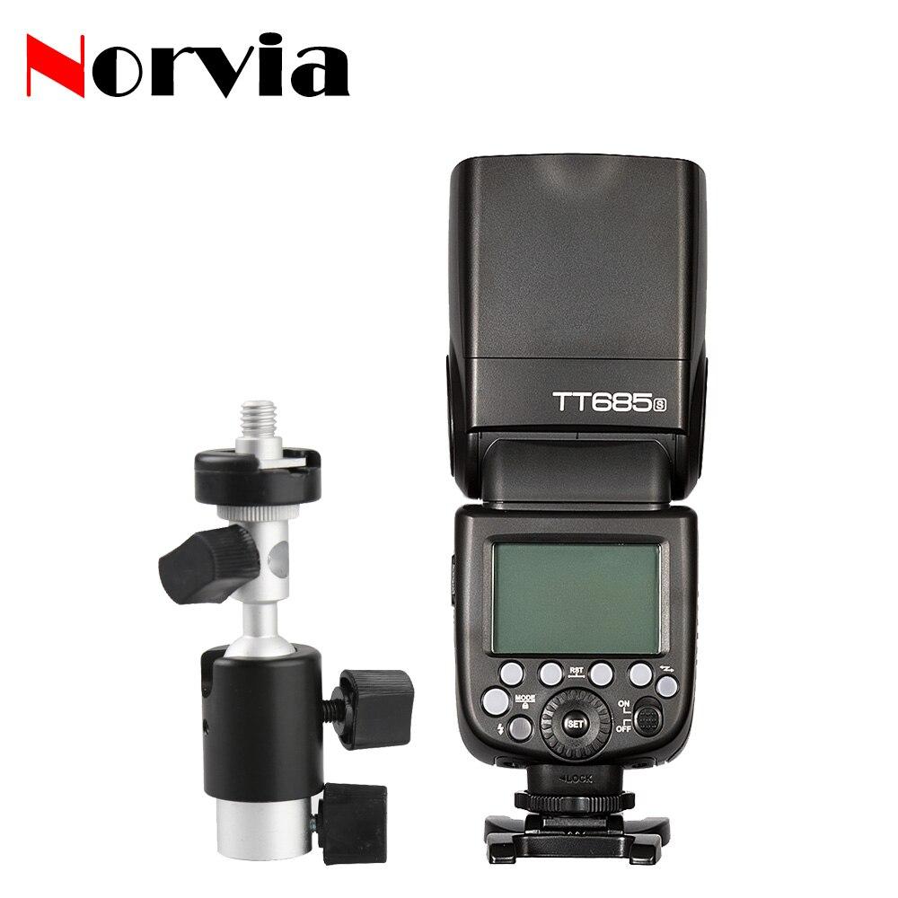 Godox TT685S 2.4 Г TTL Вспышка Speedlite D Тип зонтик Света стенд Кронштейн для Sony A58 A7RII A7II A99 A7R A6000 A7SII