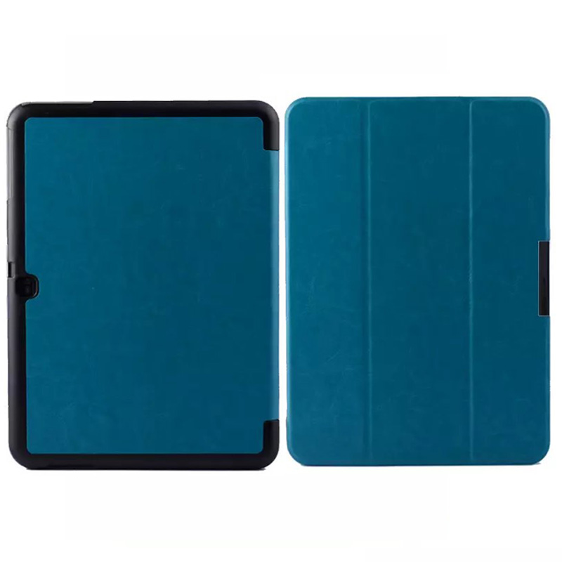 Ultra Slim Crazy Horse Magnetic Folio Stand Luxury Leather Case Protective Cover For Samsung Galaxy Tab 4 10.1 T530 T531 T535 luxury ultra slim magnetic folio stand
