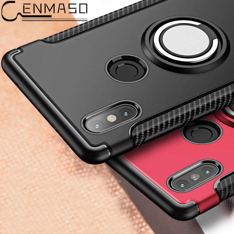 Xiaomi mi x 2 2 s mi 6 крышка Xiaomi mi A1 5X Броня магнитным кольцом funda для спортивной камеры Xiao mi redmi 5 plus note 3 xaomi redmi 4A 4X чехол