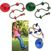 200kg Adults Children Swing Disc Seat Garden Park Activity Toy Outdoor Climbing Rope Playground Gym Toy