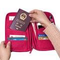 Multifunctional Travel Wallet Card Holder Women Men Wallet Bag Passport Cover Holder Travel Purse