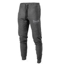Jogging Pants Trousers Sportswear Fitness Men Running New Male Cotton Rashgard Soft