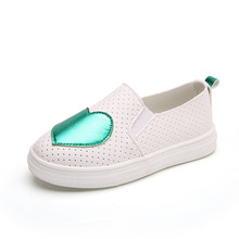 Spring Autumn Children Shoes Casual Fashion Love Girls Princess Baby Flat Heel S