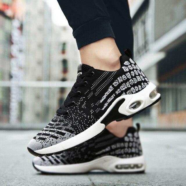 Venda quente Ao Ar Livre calçados esportivos masculinos correr ginásio  trail running shoes malha respirável tênis 7faa5fac17c17