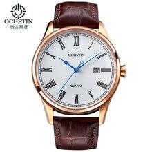2017 Ochstin Luxury Watch Men Top Brand Military Quartz Wrist Male Leather Sport Watches Women Men