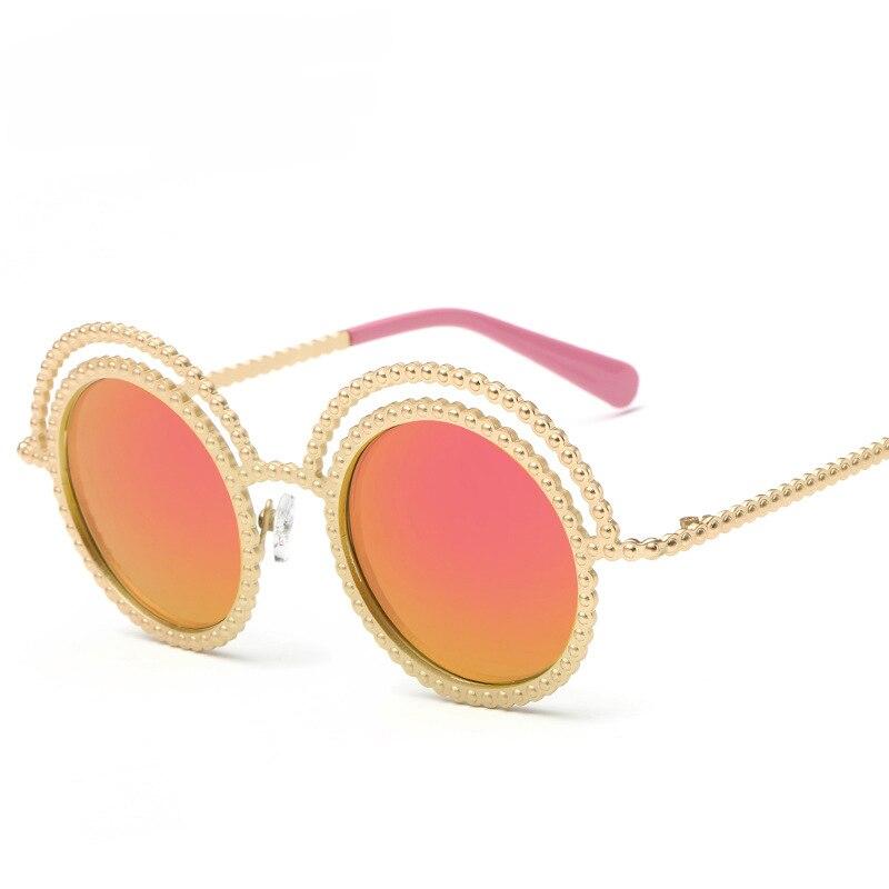 56faea637d2e0e New ronde zonnebrillen merk designer blauw bril coating gekleurde spiegel  metalen frame hoge kwaliteit zonnebril voor vrouwen in New ronde  zonnebrillen merk ...