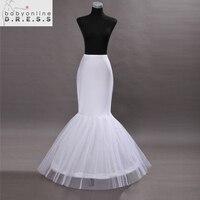 Hot Sale Cheap 2015 Mermaid Wedding Petticoat Bridal Accessories Underskirt Crinoline Petticoats For Wedding Dresses