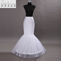 Hot Sale Cheap 2015 Mermaid Wedding Petticoat Bridal Accessories Underskirt Crinoline Petticoats For Wedding Dresses
