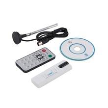 Numérique DVB-T2/T DVB-C USB 2.0 TV Tuner Bâton HDTV Récepteur avec Antenne Télécommande HD USB Dongle PC/ordinateur portable pour Windows