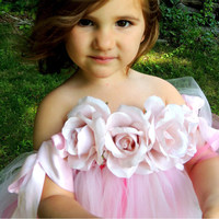 2016 Top Quality Princess Flower Girl Dresses Pink And Rojo Alicante 2 12Year Cute Draped Ball
